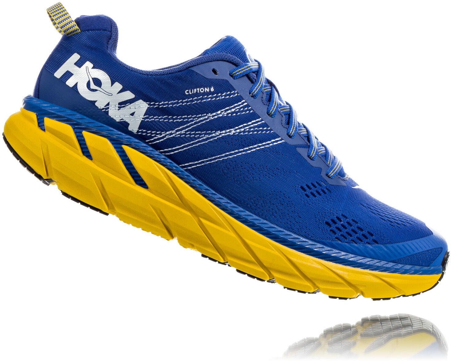 Hoka One One Clifton 6 Laufschuhe Herren nebulas blue lemon1920x1920 - Vild med løb? Prøv de nye innovative HOKA løbesko